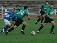 Imagen del partido de Copa Federación entre Oviedo y Uni (22/11/2006)