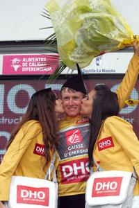 Efimkin, en el podio (Foto: © Unipublic)