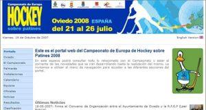 Página Web oficial del campeonato