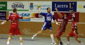 Lance del partido Naranco - Huesca