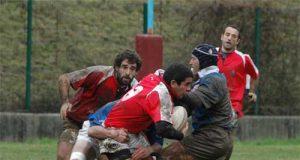 Imagen del partido ante el Universidad de Vigo