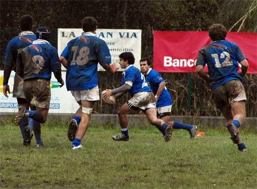 Partido ante la Universidad de Vigo