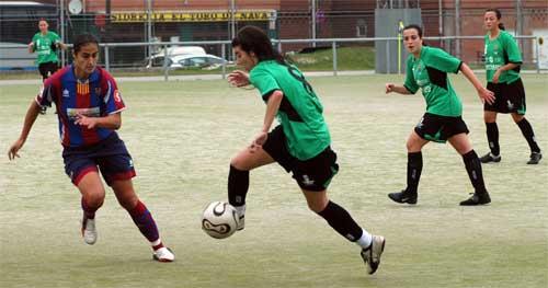 Imagen del partido de la primera vuelta, en Oviedo