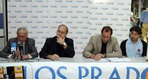 Por la izquierda, Jaime Alberti, José Suárez Arias, Héctor Galán y Mariano Arasa (Foto: Zureda Press)