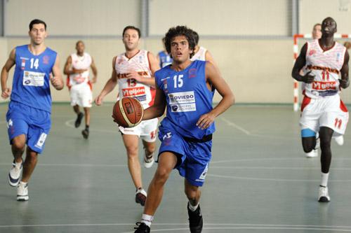 Jaime Diéguez jugó su primer partido de liga (Foto: Zureda Press)