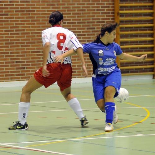 El Ovifem cosechó una previsible derrota en Bilbao (Foto: Archivo MO).