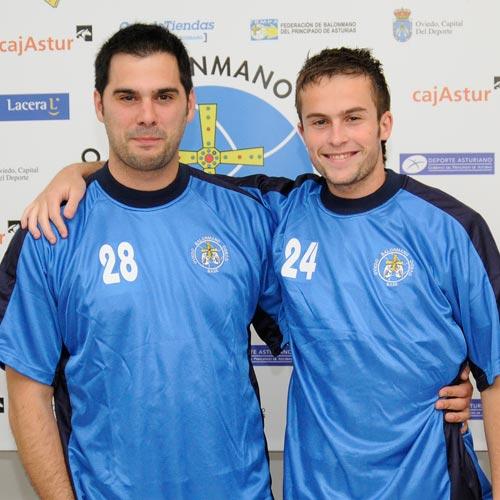 Dani García (izquierda) y Nacho Huerta, en la presentación de hoy (Foto: Zureda Press)