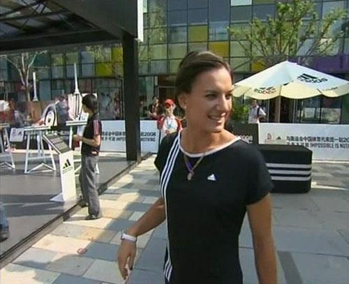 Yelena Isinbayeva vendrá a Oviedo en octubre.