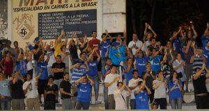 """Los """"exiliados"""" ya apoyaron al Oviedo en Alcalá (Foto: Zureda Press)"""