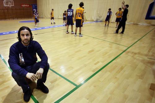 D Agostino, ayer en Pumarín (Foto: Zureda Press)
