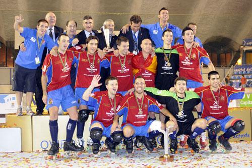 La selección española vuelve al Palacio cuatro años después de ganar el Europeo 2008 (Foto: Archivo MO).