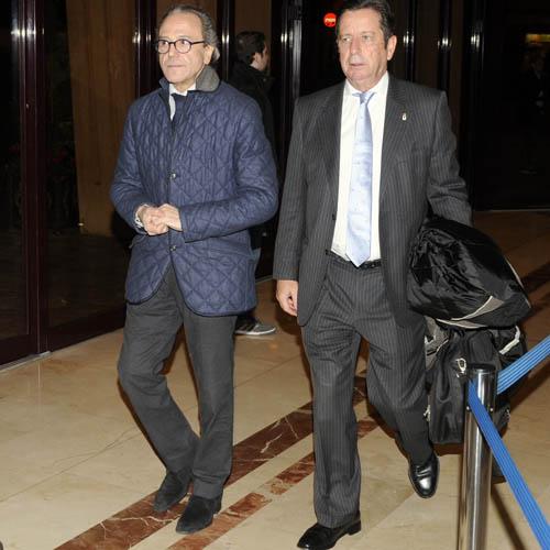Toni Fidalgo y Juan Fábrega (Foto: Zureda Press).