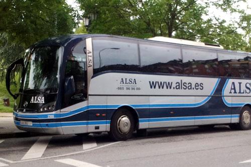 Alsa fleta autobuses especiales (Foto: MO).