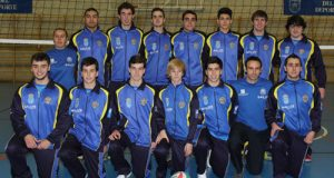 El equipo masculino ovetense (Foto: CVO).