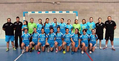 El Oviedo BF cadete (Foto: @raquelespi_13).