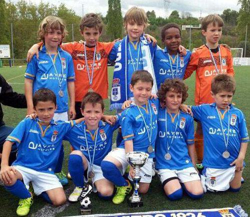 El Real Oviedo ganó en 2014 en tres de las ocho categorías (Foto: Archivo MO).