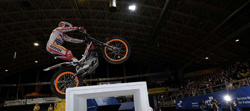 Bou, en la prueba de la semana pasada en Austria donde se proclamó ya campeón (Foto: www.fim-live.com).