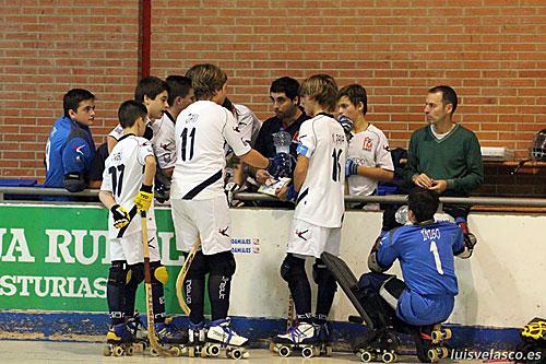 El Roller infantil no pudo superar el sector (Foto: Luis Velasco).