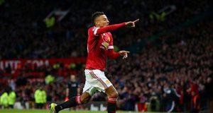 Lindgard hizo el primer gol del United (Foto: @premierleague).