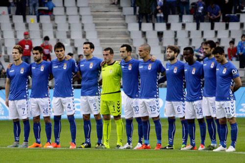 Los azules siguen en la pelea por la zona alta (Foto: Real Oviedo).