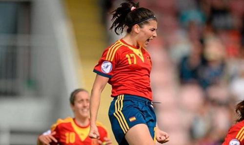 Lucía ha vuelto a recibir la llamada de la selección sub-19.