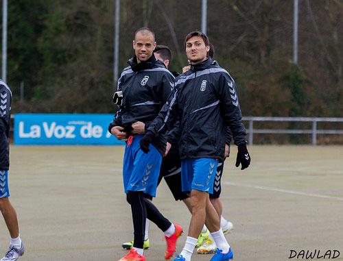 Jonathan Vila (derecha), junto a Rubén Miño (Foto: Dawlad).