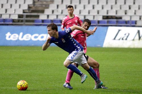 Susaeta dio la asistencia del gol (Foto: Real Oviedo).