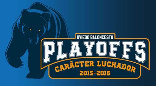 Logotipo de los playoff elaborado por el OCB.